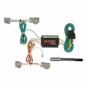 56191 Curt 4 Way Flat Trailer Wiring Connector Harness Fits Ford Fiesta