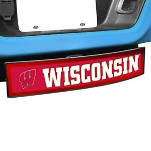 Light Up College Hitch Cover W University Of Wisconsin Logo For 2 Receivers