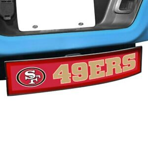 Sport Light Up Hitch Cover W San Francisco 49ers Nfl Logo For 2 Receivers