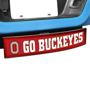 Hitch Cover Light Up College Hitch Cover W Ohio State University W Go Buckeyses