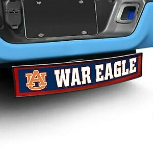 Hitch Cover Light Up College Hitch Cover W Auburn University W War Eagle Logo