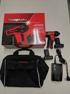 Snap On Cts761a Cordless Screwdriver Kit In Box