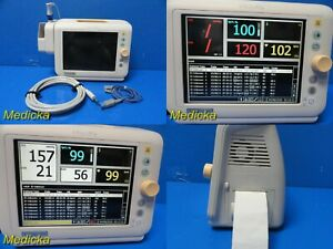 Philips Sure Signs Vs3 Patient Monitor W Nbp Hose spo2 Sensor temp Probe 18184