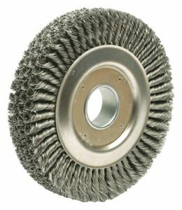 Weiler Wire Wheel Brush 0 023 Wire Dia 94008 1 Each
