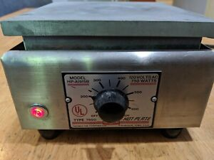 Thermolyne Sybron Corporation Hot Plate Type 1900 Model Hp a1915b 120v 750w