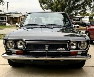 Datsun 510 Sss Gl Supersonic Grill Jdm Rare With Badge