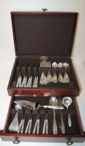 Stradivari By Wallace Sterling Silver Flatware Set For 8 Service 68 Pieces