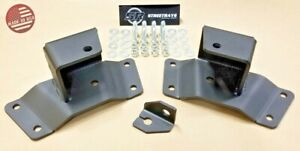 sr Lowering Kit 2 Rear Axle Drop Hangers 88 98 Chevy C1500 K1500 Sierra 2wd