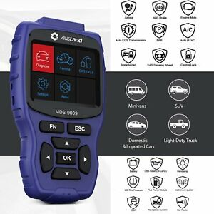 Obd2 Full System Abs Srs Airbag At Diagnostic Scanner Tool Family Car Diy Useful