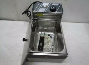 12lb Stainless Steel Electric Commercial Countertop Deep Fryer 26fry002 s2500