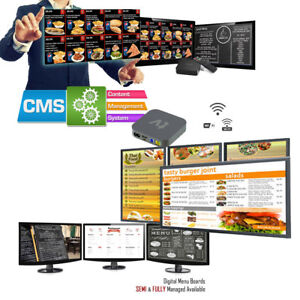 Digital Signage Players Free Cms Signage Software No Monthly Fees
