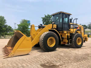 2016 Caterpillar 950m Articulated Wheel Loader Cab Ac Rubber Tire Cat Tractor