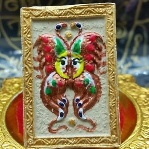 Best Amulet For Lucky Rich Charm Kruba Krissana King Butterfly Thep Jamlang Thai
