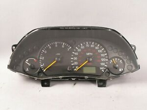 2000 04 Ford Focus Instrument Gauge Cluster With Tachometer Speedometer Tach