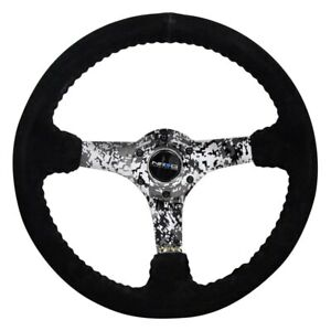 Steering Wheel Reinforced Steering Wheel 3 Spoke Hydro Dipped Digital Camo
