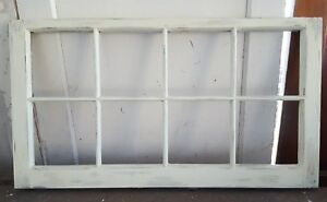 Architectural Salvage 8 Pane Old Window Sash Frame Pinterest Ivory 38x20