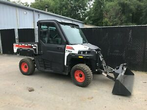 Bobcat 3650 Hd Utv 4wd Ac heat With Bucket Low Hours Kohler Diesel Polaris