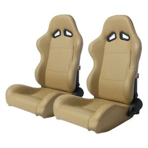 Racing Seat Cpa1001 Series Reclining Steel Tubular Frame Racing Seats Beige
