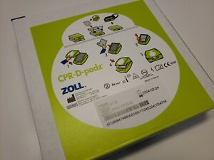 new Zoll Cpr d padz Aed Defibrillator Electrode Pad Zoll 8900080001 Exp 2 2024