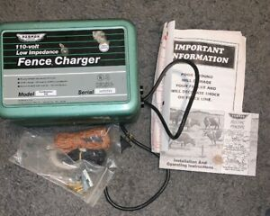 Parmak Fieldmaster Fm 1 Fence Charger A c Powered Solid State 110 Volt Made Usa