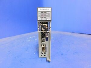 Allen Bradley 1747 l542 5 04 Ver B Rev 3 Slc 500 Cpu Module With Dh And Rs232