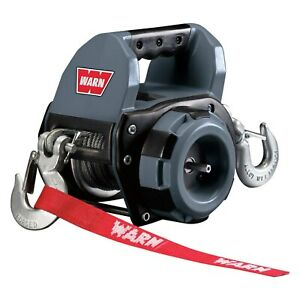 Warn 910500 500 Lbs Portable Drill Winch W Wire Rope