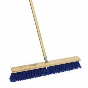 Harper 587924sc 24 Rough Surface Outdoor Push Broom With Handle