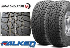 2 Falken Wild Peak A T3w 275 60r20 115t All Terrain Any Weather Rugged Tires