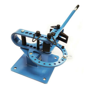 7 Dies 1 3 Inch Portable Compact Bender Metal Fabrication Tube Rod Pipe Bender