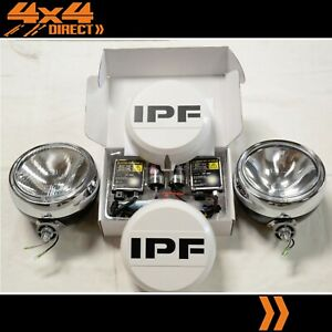 Ipf 900 Round Driving Spot Lights W 55w Hid Conversion Kit Wiring covers