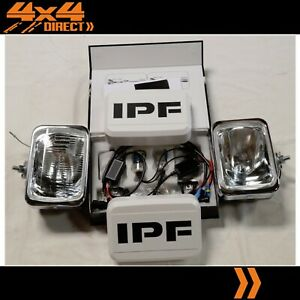 Ipf 800 Rectangle Driving Spot Lights W 70w Hid Conversion Kit Wiring Covers
