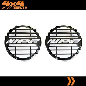 Genuine Ipf 900 900xs Round Black Grill Driving Spot Light Covers