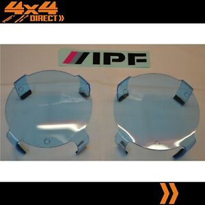 Ipf 900 Round Blue Driving Spot Light Covers