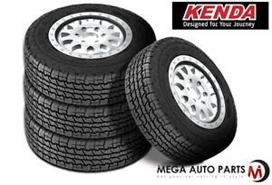 4 New Kenda Klever A T Kr28 33 12 5r15 108s C Load All Terrain Radial Tires