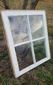 Architectural Salvage Antique Wood Window Sash Pinterest Etsy 4 Pane 24x20