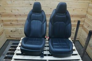 Set Of 2 Front Left Right Driver Passenger Sport Seat Maserati Ghibli 2014