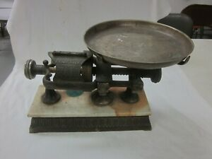 Vintage Micrometer Store Candy Scale Working Condition Marble Base