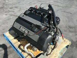 00156 Bmw E36 2000 Z3 Oem M52 2 5l Engine Motor Runs Smooth
