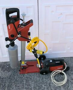 Hilti Dd 150 u Concrete Diamond Core Drill System W Stand Bit great Shape