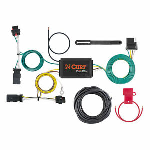 56369 Curt 4 Way Flat Trailer Wiring Connector Harness Fits Jeep Compass