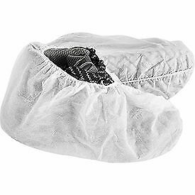 Standard Disposable Shoe Covers Size 12 15 White 150 Pairs case 1 Each