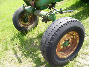 Vintage Oliver 1750 Diesel Row Crop Tractor wide Front Axle Assembly 1969