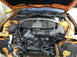 2018 Ford Mustang Gt 5 0 Motor Engine 6 Speed Manual Swap Only 10k Miles