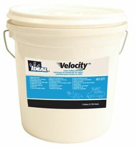 Ideal Cable And Wire Pulling Lubricant 1 Gal Pail Water Chemical Base White