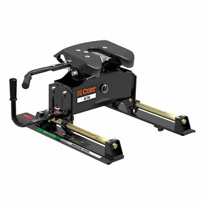 16521 Curt A16 5th Fifth Wheel Hitch With Roller Slide 16 000 Lbs