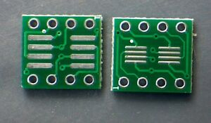 Sop8 So8 Soic8 Smd To Dip8 Adapter Pcb Board Converter Double Sides 4pcs