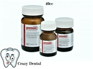 Premier Hemodent Hemostatic Solution Bottle 40cc 40cc 9007073