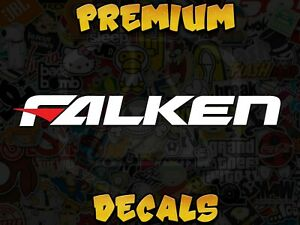 Falken Tire Logo For Racing Enthusiast Available In Any Colors And Sizes Stance