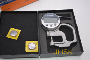 Shahe High Quality 0 10mm Thickness Gauge Ldc Cloth Leather Thickness Tester