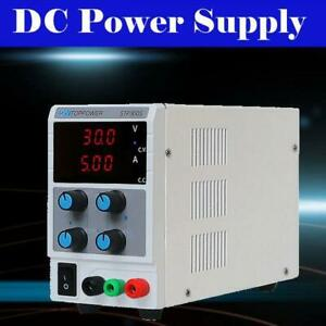 30v 5a Adjustable Dc Bench Lab Power Supply Variable Laboratory Test Equipment